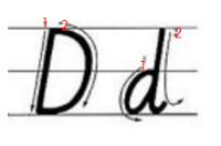 d是几笔写成