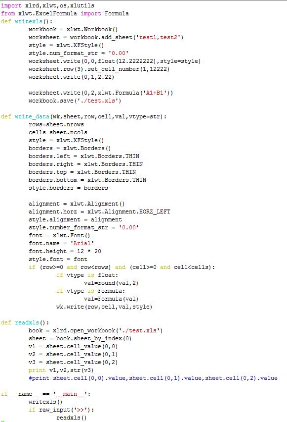 为什么python xlrd读取不到含有公式的单元格的值_百度知道