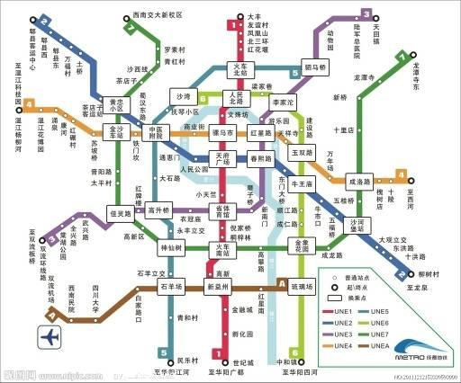 成都双流机场1号线_成都双流机场到犀浦地铁在那站下_百度知道