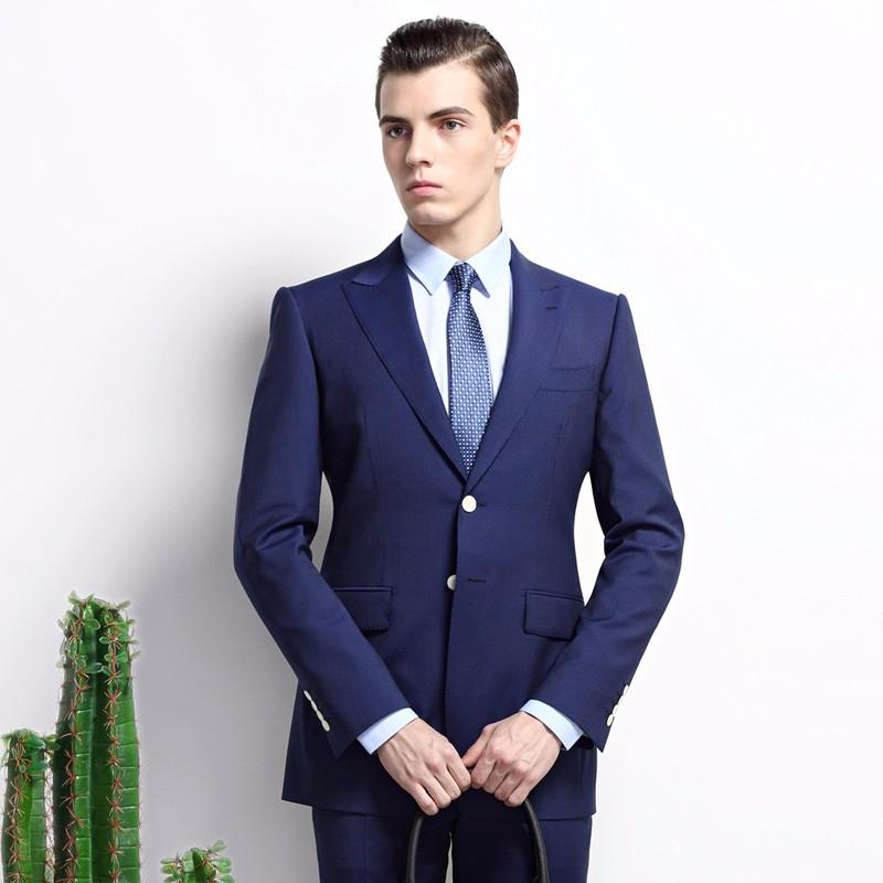 男士正装衬衣图片_蓝色西装搭配图片男士,藏蓝色蓝色西服怎么搭配好看男_百度知道