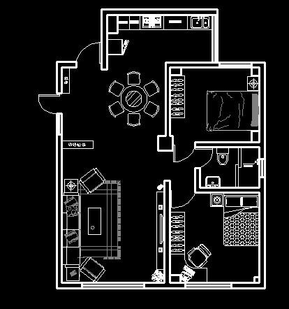 房子平面圖怎么畫圖片