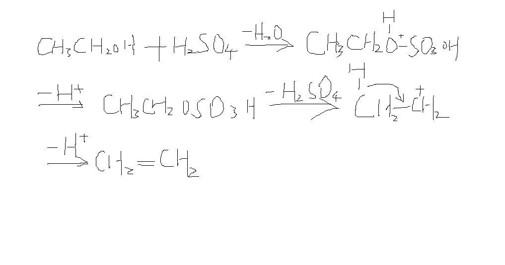 醇的消去反应机理