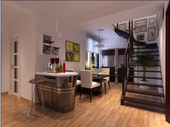 現代簡約風格裝修客廳和臥室用什么顏色的墻漆搭配