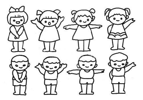 儿童人物画_怎样画儿童人物画_百度知道