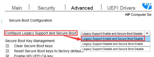 为什么惠普hp ProDesk 498G3装WIN7时无法关闭UEFI Boot Ord?_百度知道