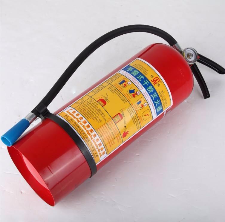 简述手提式干粉灭火器的使用方法