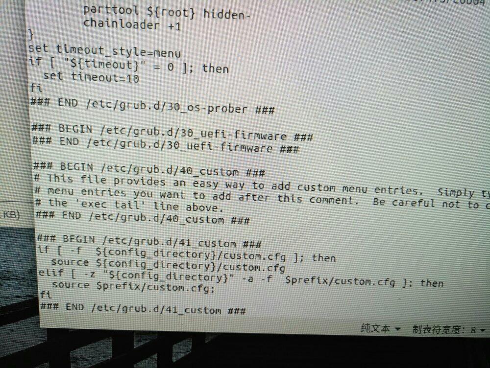 grub2启动顺序怎么把win放在最下面把Ubuntu放到最上面?_百度知道