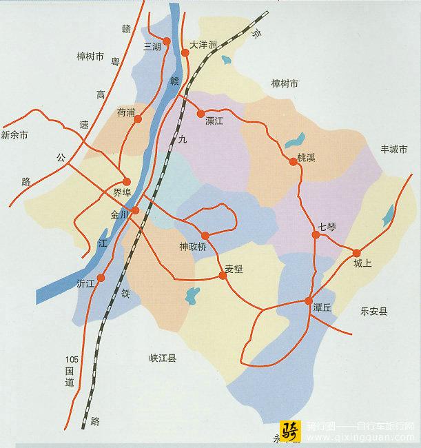 江西省行政区划的吉安市