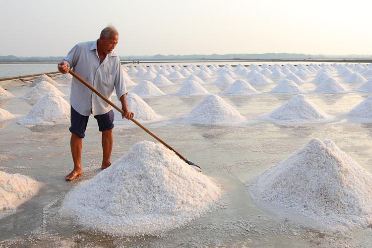 海南盐场晒盐地点