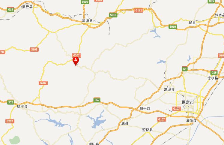大石峪景区地图信息