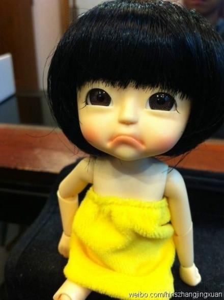 女孩委屈图片_求!穿黄色衣服的卡通委屈想哭女孩名字和完整图片!_百度知道