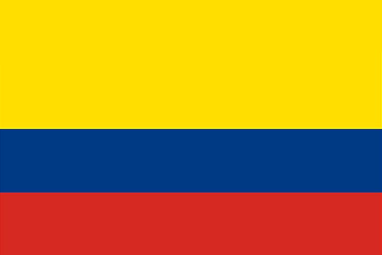 黄色囹?a???9??:l?_自上而下由黄,蓝,红三个平行横长方形相连而成,黄色部分占旗面的一半