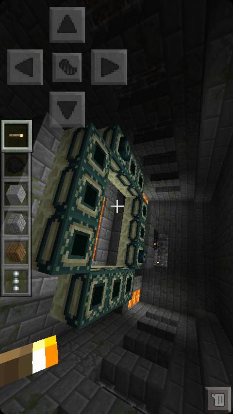 我的世界末影要塞_我的世界手机版0.9.X有末路之地吗 我在地下我到了要塞和传送门 ...