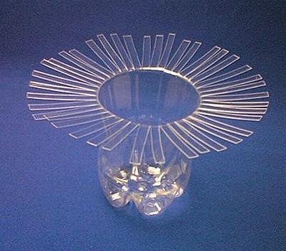 矿泉水瓶子装饰