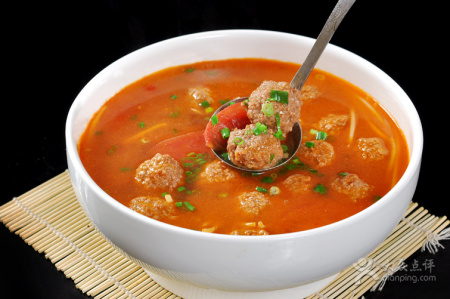 番茄丸子汤_番茄丸子汤的介绍