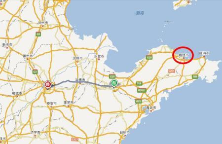 潍坊市交通地图
