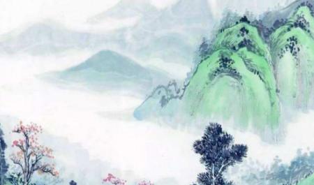 """前有河后有山诗词 古诗中带有""""山、水""""的诗句有哪些"""