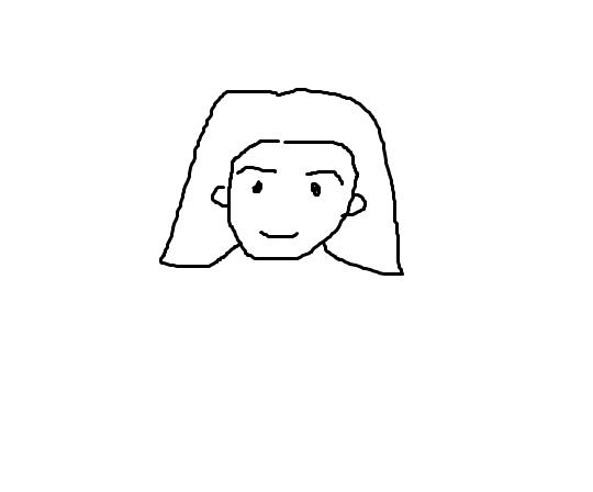 画人头发怎么画简笔画