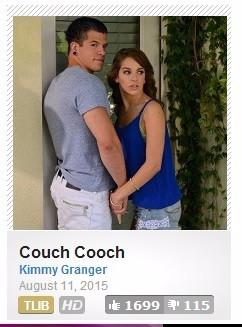 Kimmy granger and bambino couch cooch