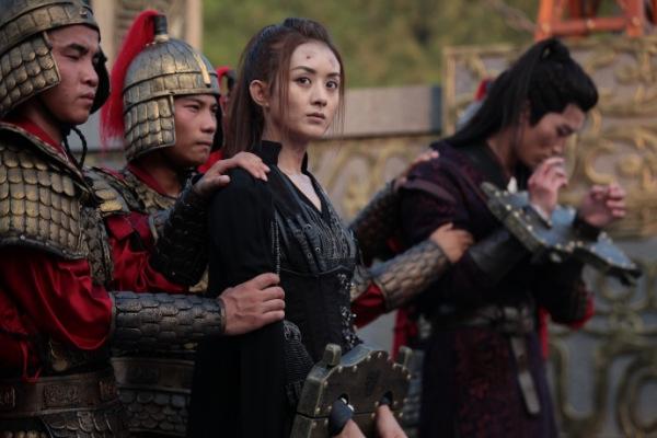 《楚乔传》中哪一段让你觉得赵丽颖演技炸裂?