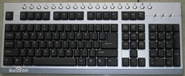 电脑键盘全图清楚的_谁能发一张电脑键盘高清图,要每个键都清楚的_百度知道