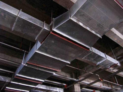空调风管制作_消防防排烟镀锌风管的厚度是多少?_百度知道