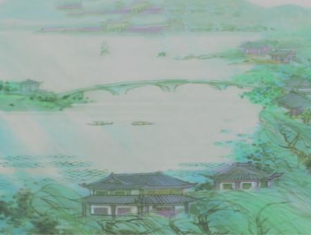 描写山水古风诗词 描写古风山水的句子 诗词歌曲 第5张