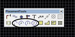 protel怎么画圆,怎么画元件呢?