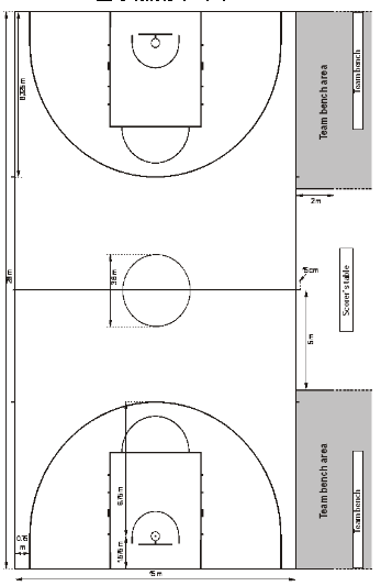 最新篮球场地画法_篮球场框怎么画_百度知道