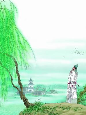 描写草的古诗_描写春天的古诗和图画有哪些?_百度知道