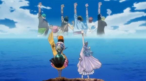 百度雨滴桌面_求一张海贼王壁纸 薇薇和鸭子挥手和路飞他们告别的_百度知道