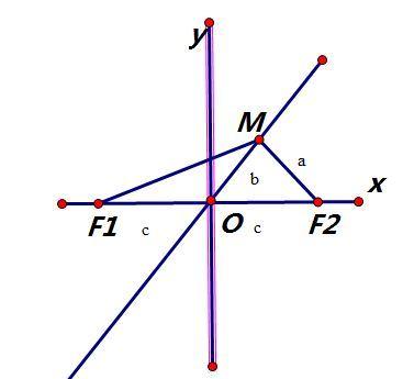 双曲线图片_F1,F2分别为双曲线的左右焦点,过点F2做此双曲线的一条渐近线的 ...