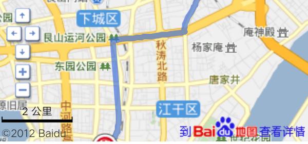 杭州东站到杭州火车站有多远?