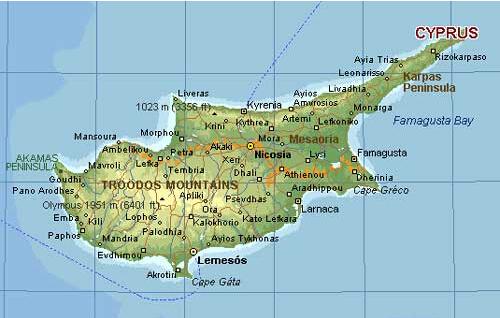 黎巴嫩在哪里_塞浦路斯岛的地理位置_百度知道