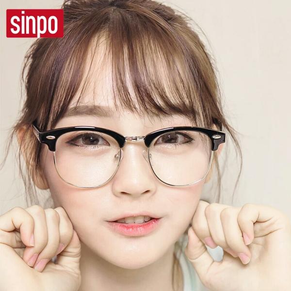 眼镜框女生图片_女大学生,鹅蛋脸,长头发,适合什么样的眼镜框???_百度知道