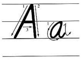 a怎么写笔顺