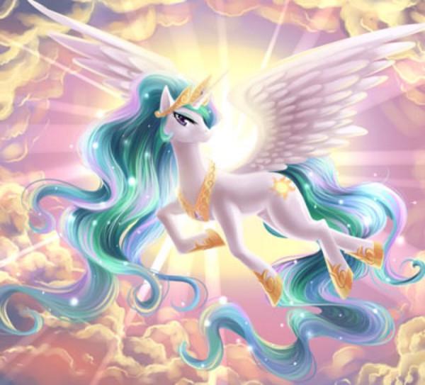 太阳公主_小马宝莉宇宙公主生起太阳时图片 飞行时图片_百度知道