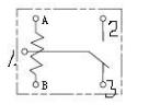 5脚继电器接线图