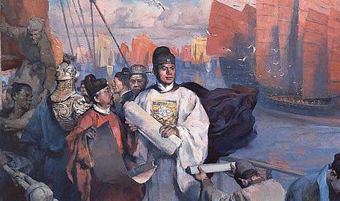 郑和下西洋的主要目的是什么?