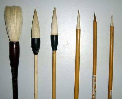 如何选购毛笔,刚买来的毛笔该怎么处理
