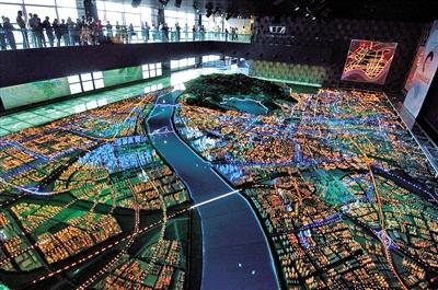 杭州钱江新城市民中心的设计规划科普互动体验区
