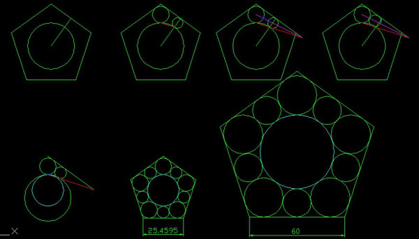 求这个图用cad怎么画,毕竟尺寸少,还有些关系不明白