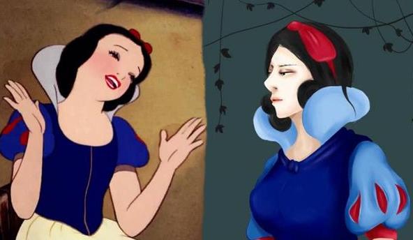 迪士尼有哪些公主画风突变?