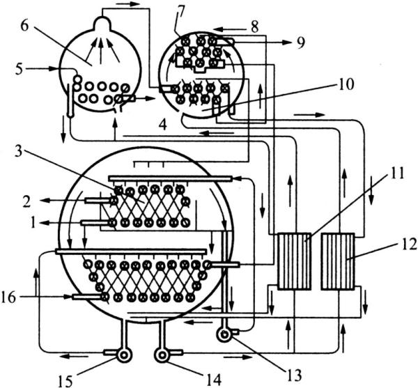 斯特林制冷机原理图_蒸汽双效型溴化锂吸收式冷水机组工作原理是什么?_百度知道