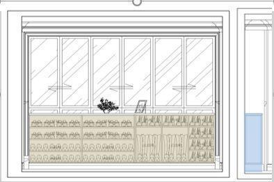 定制玄关鞋柜该怎么设计?
