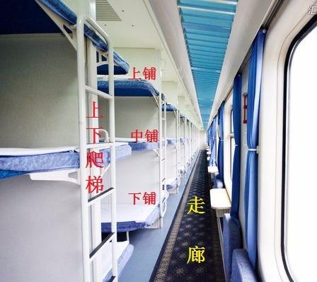 火车硬卧行李放哪里图片_火车硬卧车厢中用来爬中铺和上铺的梯子具体在什么位置 行李厢 ...