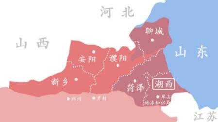河南山東之間這個省為什么被撤銷了?