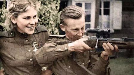 二战苏联女狙击手有多可怕?一个幼师就能干掉59个德国人