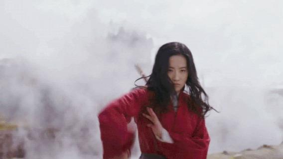 刘亦菲版《花木兰》:谁说女子不如男?