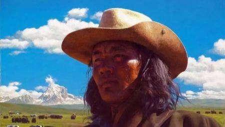 为什么藏人的帽子和美国西部片中的这么像?